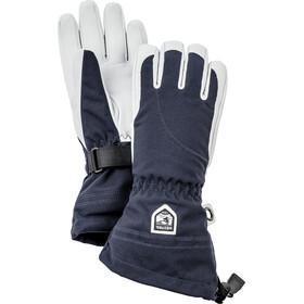 Hestra Heli Ski 5 Finger Gloves Damen navy/off-white